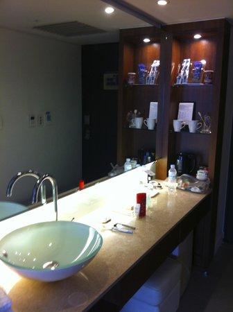Best Western Premier Hotel Kukdo: Bath area
