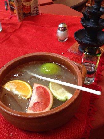 El Patio Tlaquepaque : Cazuela con tequila: una delicia que quita la sed.