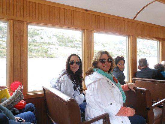 White Pass & Yukon Route Railway: MK and Danielle