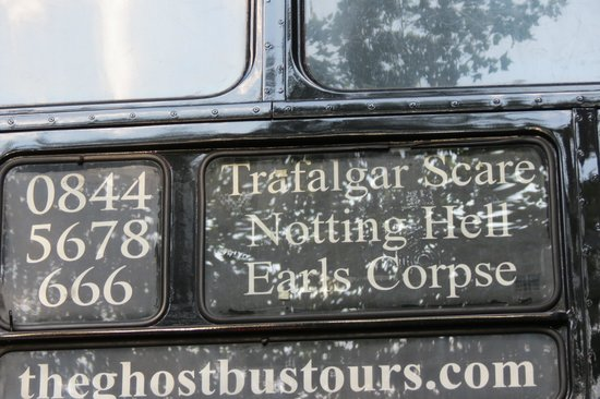 The Ghost Bus Tours - London: Ghost Bus
