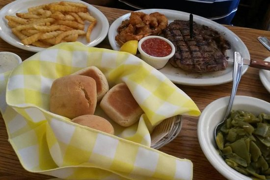 The Old Mill Restaurant: Juicy steak