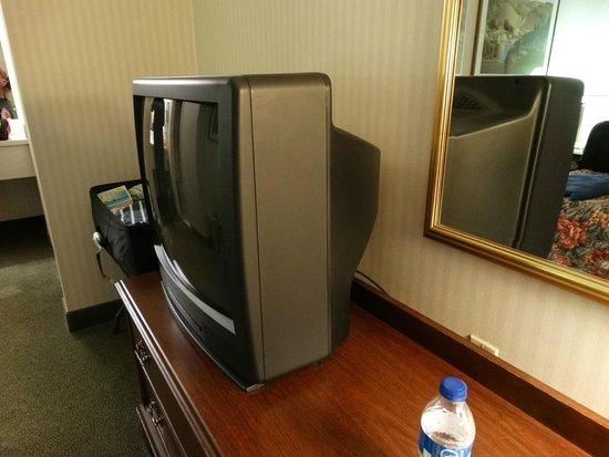 University Place: Old school television set