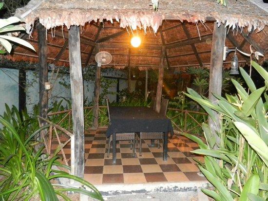 Tangram Garden: espace privé pour manger