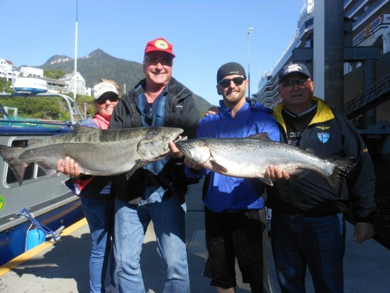 AAA Sportfishing Co.: Not bad for early seaon Chinook fishing