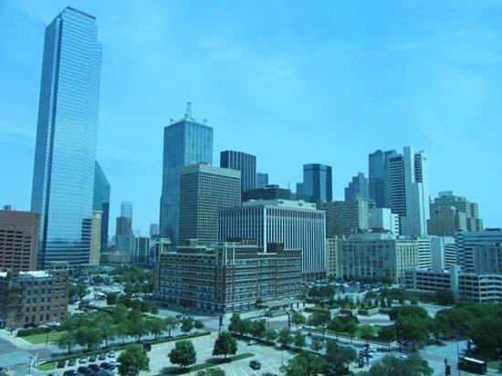Omni Dallas Hotel: view from room