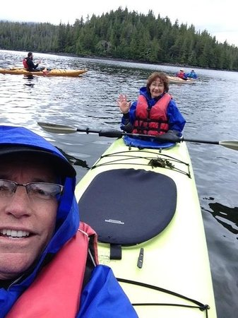 Southeast Sea Kayaks: It was raining but they provided everything you needed to stay dry