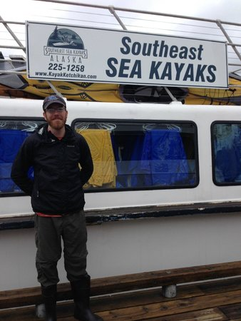 Southeast Sea Kayaks: Our guide Zac