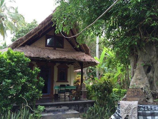 Gedong Gandhi Ashram : The bungalow