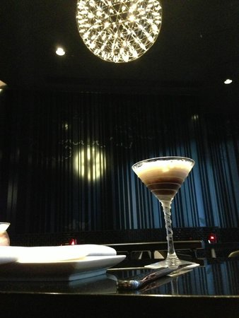 Mira Moon Hotel: chilli espresso martini cocktail
