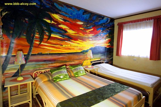 Bodos Bamboo Bar Resort: Triple Deluxe (Aircon Low Noise)