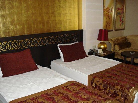 Horus Paradise Luxury Resort: Постель меняли регулярно.