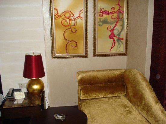 Horus Paradise Luxury Resort: В номере главного корпуса.