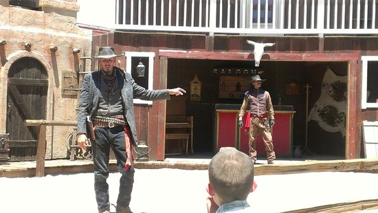 """Old Tombstone Western Theme Park: """"Horse thief? I ain't no horse thief!"""""""
