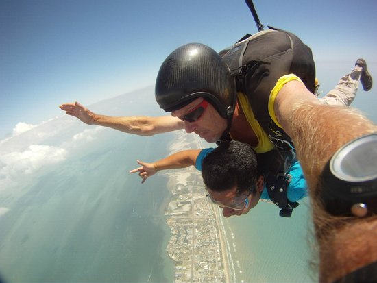 Skydive South Padre Island: My instructor was cool and so was the freefall!