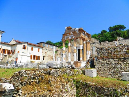 Tempio Capitolino e Piazza del Foro