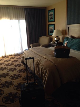 Prescott Resort & Conference Center : The bed