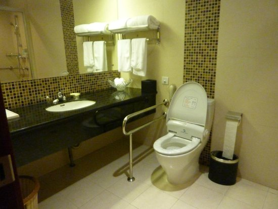 Shanghai Southern Airlines Pearl Hotel: The bathroom