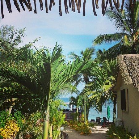 Castaway Resort: taken from room 6