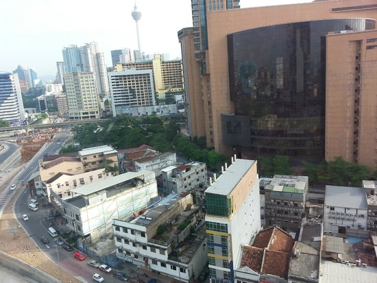 Furama Bukit Bintang: The view from our room.