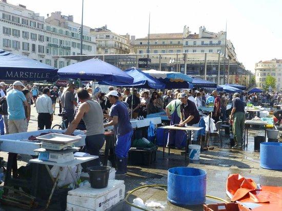 Old Port: Fish market