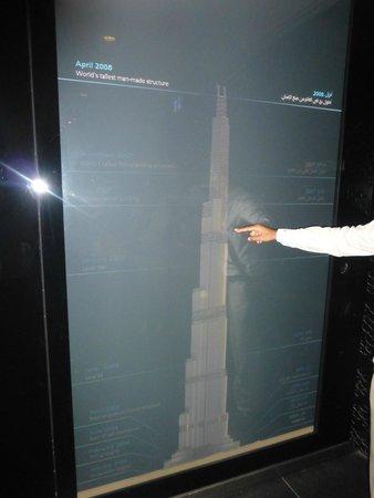 Burj Khalifa: Spiegazione prima della salita