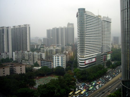 Sofitel Guangzhou Sunrich : Room landscape
