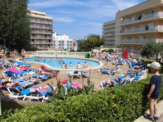 Palma Bay Club Resort: piscina muy bien