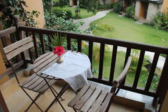 Temple Tree Resort & Spa : from the balcony