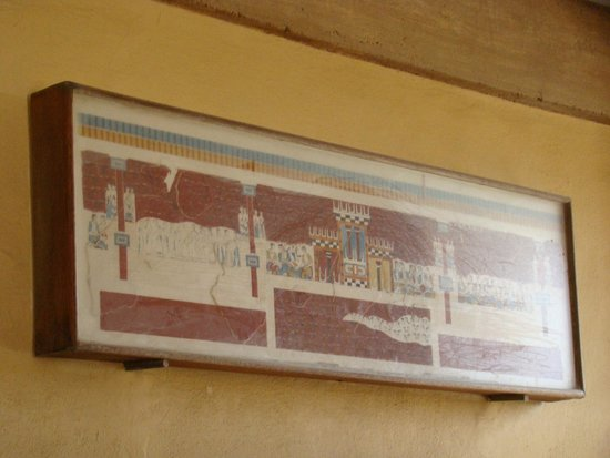 The Palace of Knossos: фрески