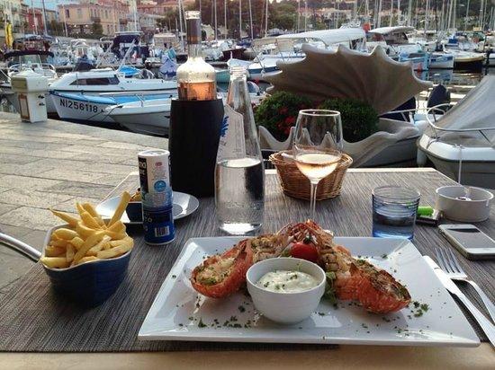 ristorante la conchiglia : Aragosta alla griglia