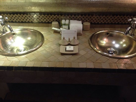 Riad Fes - Relais & Chateaux : Bathroom