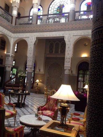 Riad Fes - Relais & Chateaux : Main hall
