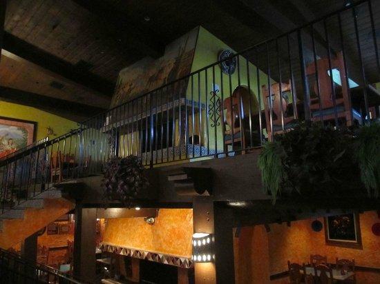 Celia's Mexican Restaurant: Mezzanine area