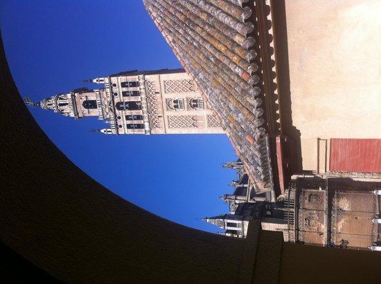 Hotel Dona Maria : お部屋からの眺め 朝