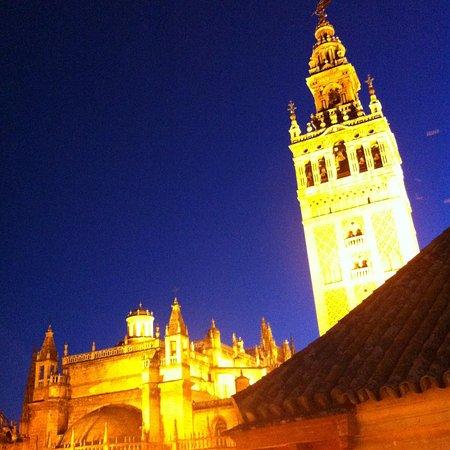 Hotel Dona Maria: お部屋からの眺め 夜