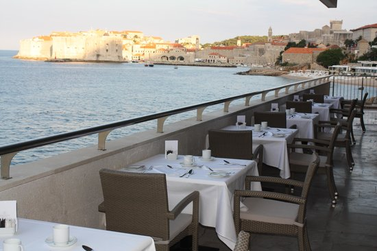 Hotel Excelsior Dubrovnik: View for Breakfast restarant