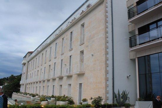 Hotel Excelsior Dubrovnik: the old section