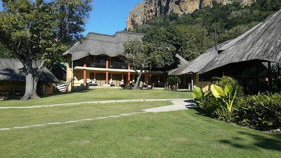 iNtaba River Lodge: Lodge