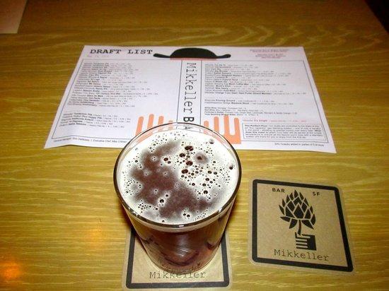 Mikkeller Bar: IPA and extensive beer menu