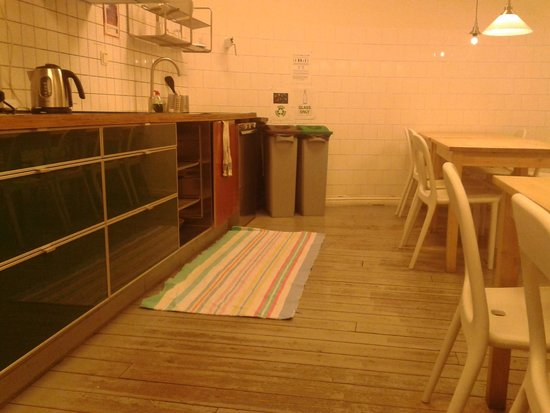 City Backpackers Hostel: Küche