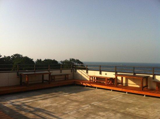 Misaki Lodge Nishida: rooftop view