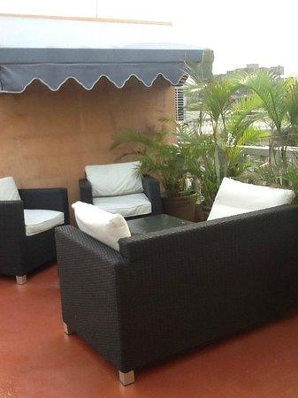 Casa Naemie: terrasse