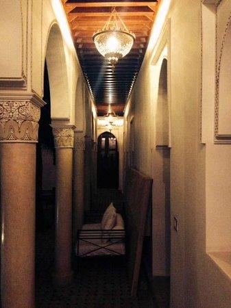 Le jardin d'Abdou: Couloir
