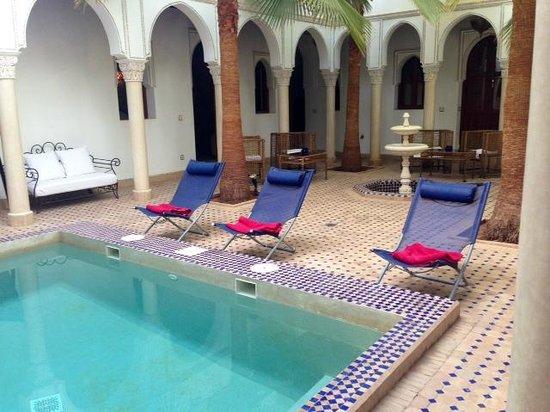 Le jardin d'Abdou: Vue sur le patio