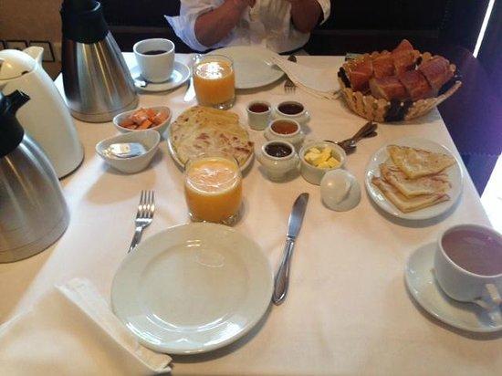 Le jardin d'Abdou: Petit dejeuner parfait !