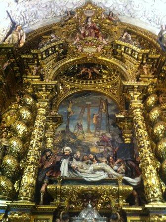 Iglesia de la Caridad: バロックの主祭壇