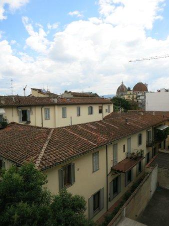Hotel Palazzo Vecchio: Вид с балкона номера 3-го этажа