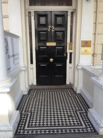 72qt Guest House: Front door - you get a key to front door with room key.