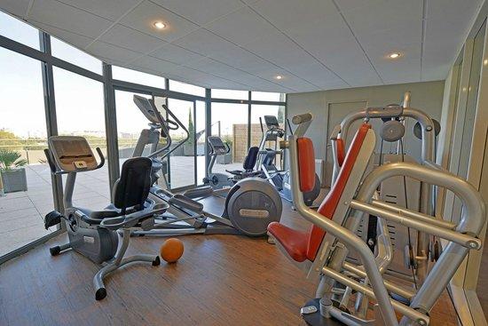 Quality Hotel du Golf Montpellier Juvignac : Fitness room