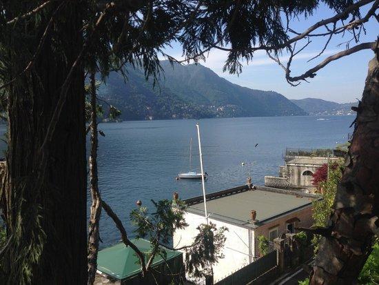 Relais Villa Nina: View of Lake Como from the room terrace.